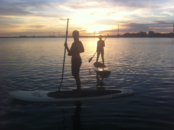 Sunset Sunrise SUP Florida Keys