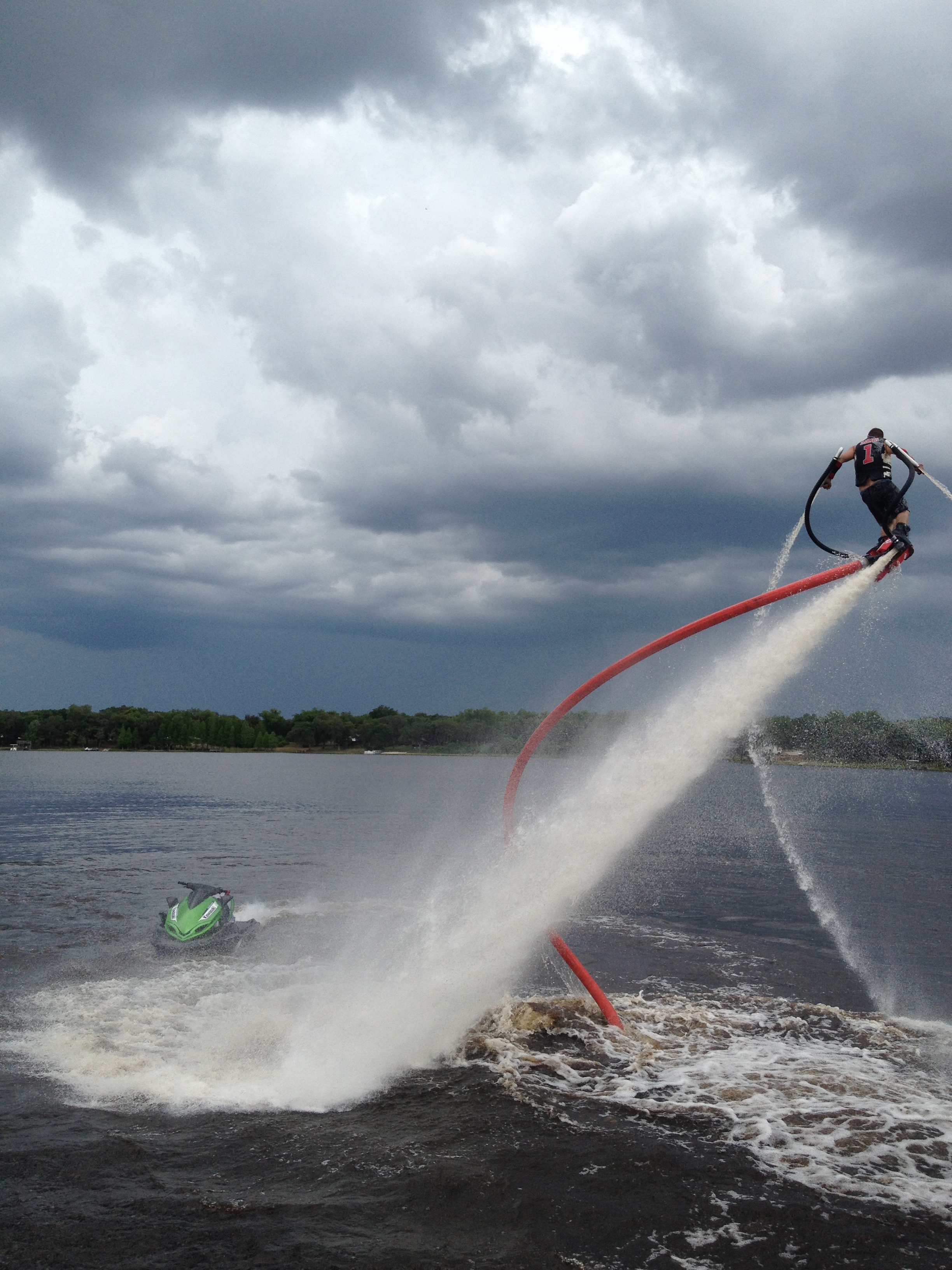 Flyboard Maneuverability