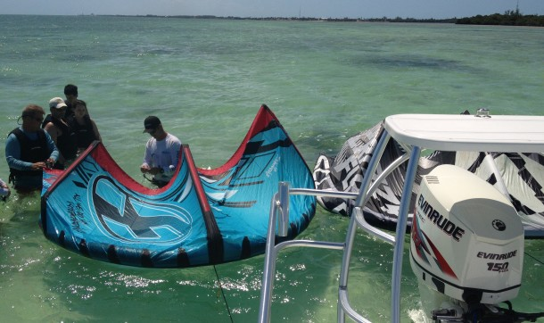 F-One, Crazy Fly, Evinrude, Florida Keys Kiteboarding