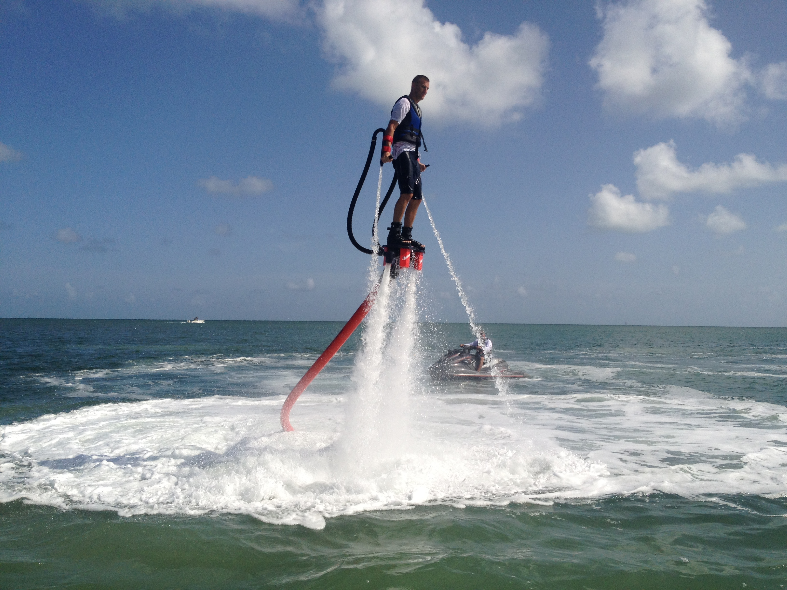 FlyBoarding in The Florida Keys with Florida Keys Kiteboarding