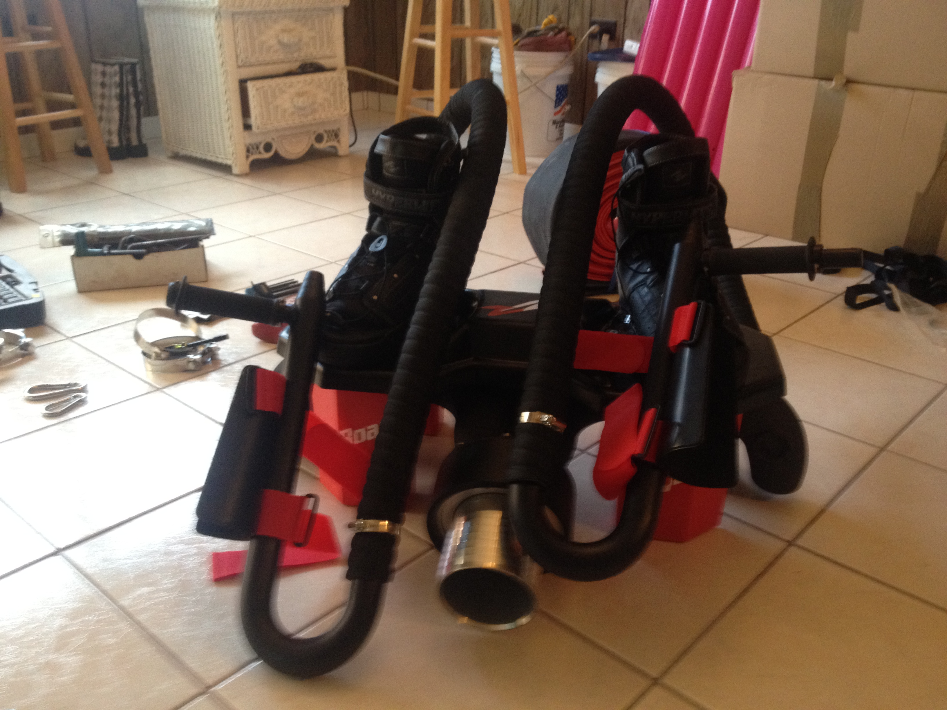 The Flyboard is almost ready to fly!