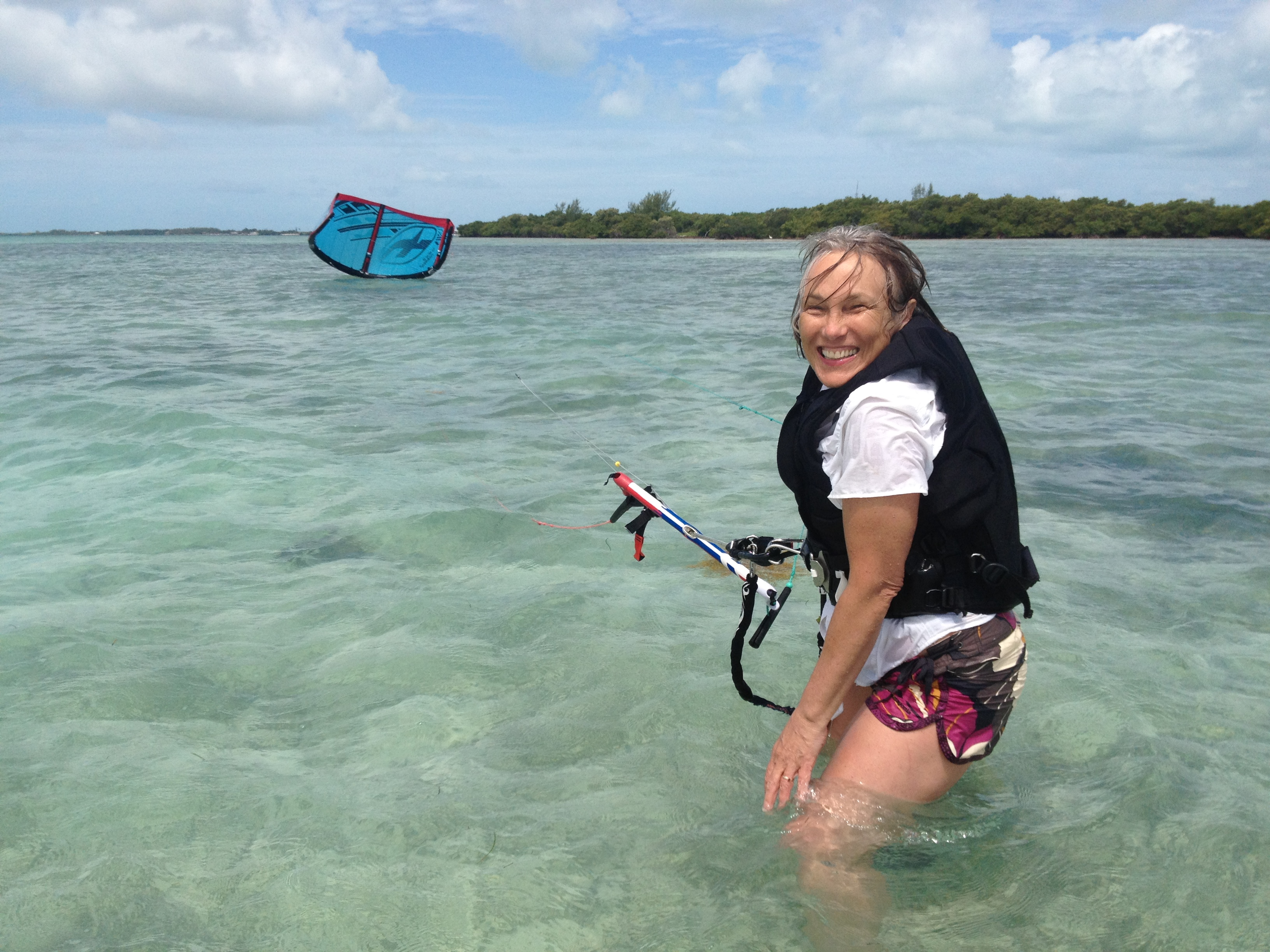 Clear Waters for Kiteboarding in The Florida Keys