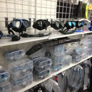 Low Volume High Quality Dive and Snorkel Masks.