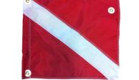 2370 Diver Down Flag 14 x 16