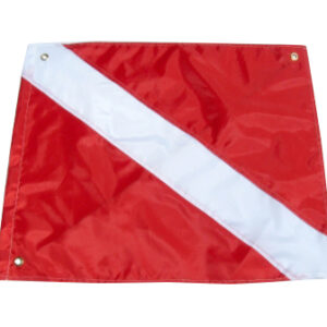 2381 Flag, Boat Diver Down with stiffiner 20x24inch